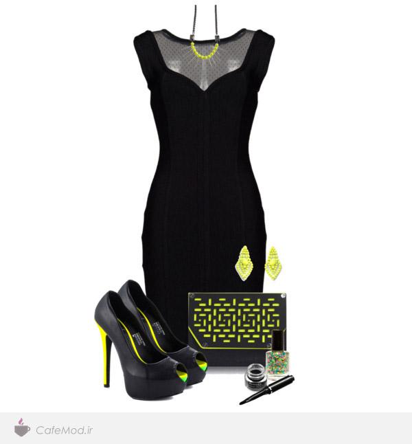 مدل ست کردن لباس زنانه