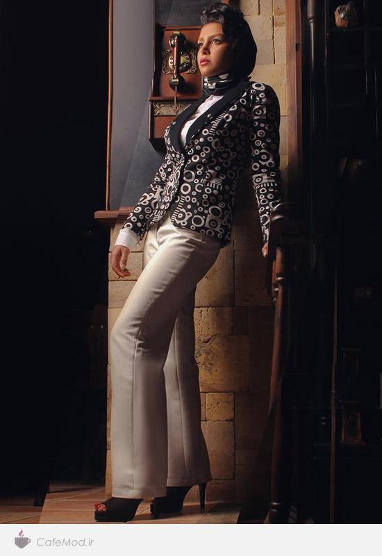 مدل لباس زنانه برند ایرانی نیکنام