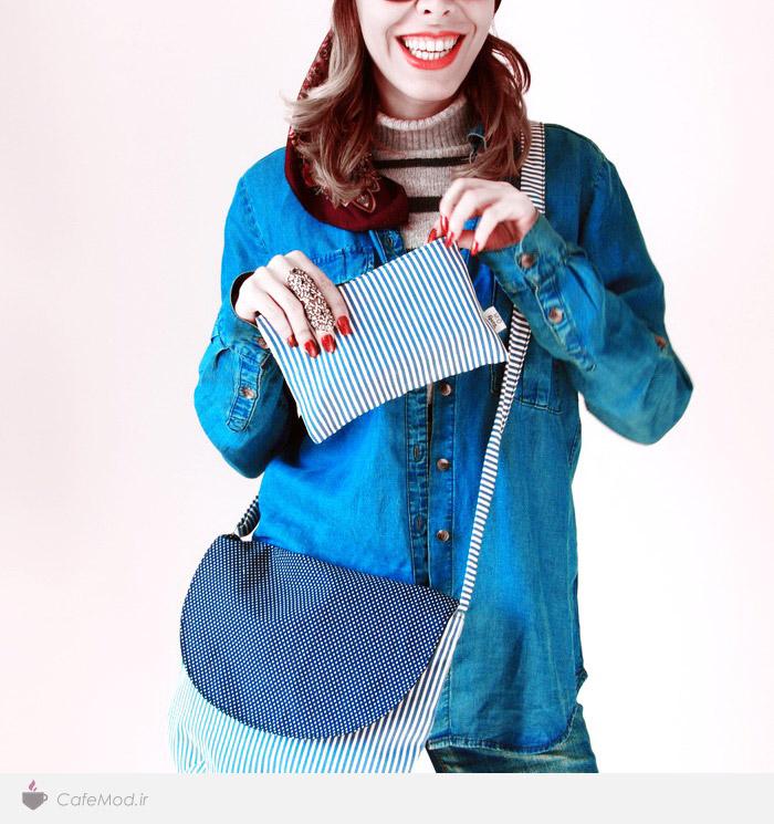 مدل کیف دست ساز برند ایرانی کادو کادو