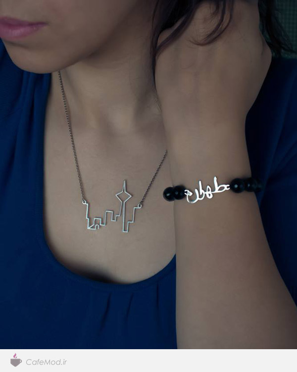 مدل گردنبند و دستبند