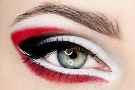 آموزش آرایش چشم عربی 2