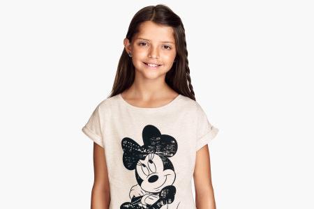 مدل تیشرت دخترانه H&M 10