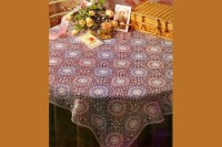 الگو برای رومیزی گرد بزرگ