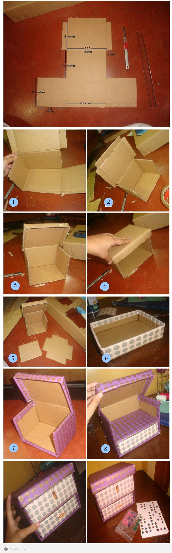 آموزش ساخت باکس