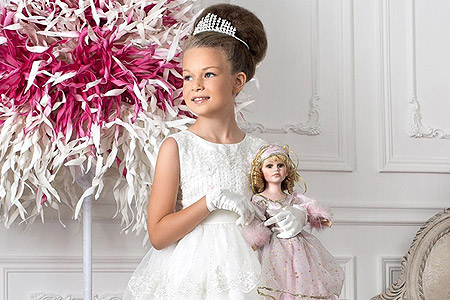 مدل لباس عروس دخترانه perlitta 1