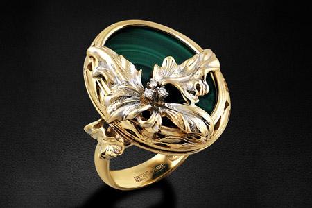 مدل انگشتر جواهر  10