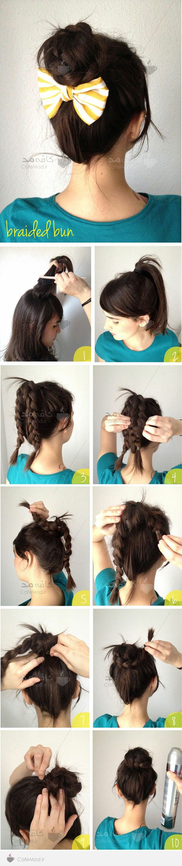 آموزش آرایش و بستن مو