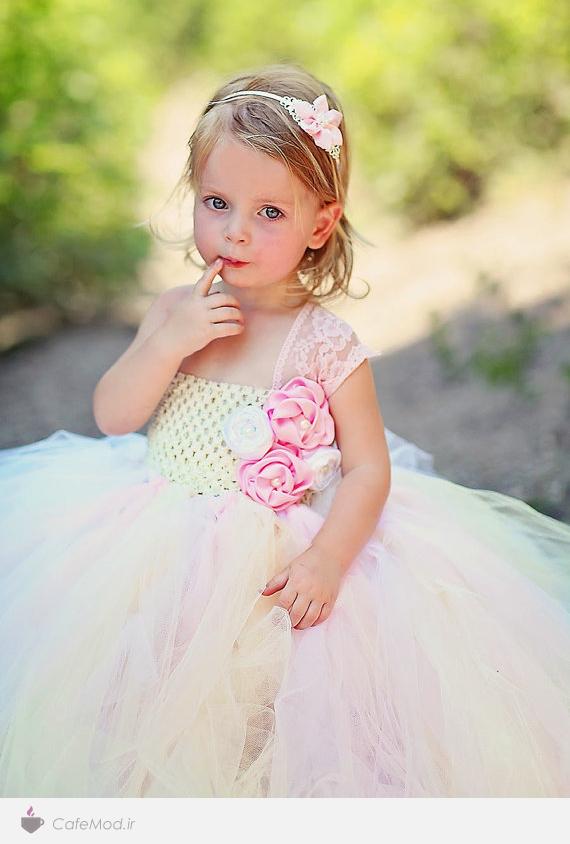 مدل لباس توری دخترانه