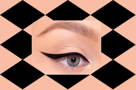 آموزش کشیدن صحیح خط چشم 2