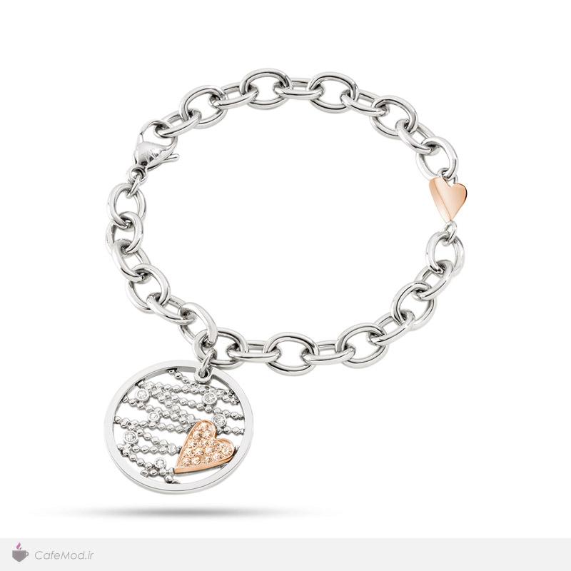 مدل دستبند طرح قلب