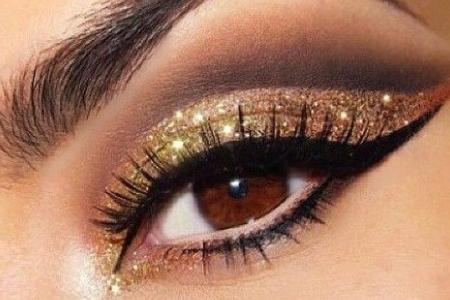 آموزش آرایش چشم 1