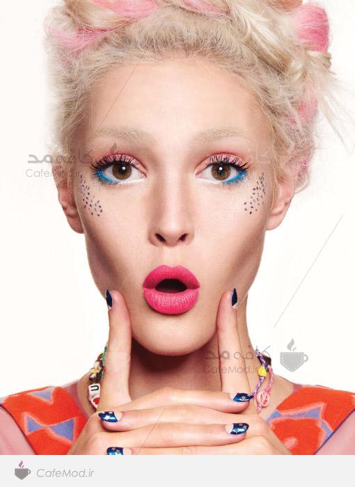 مدل آرایشی جدید