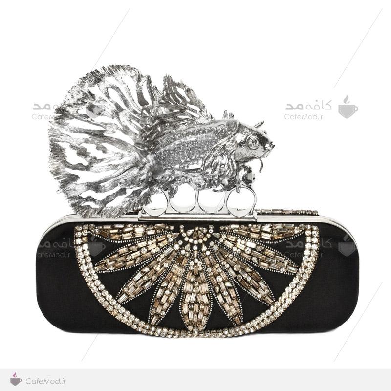 مدل کیف زنانه Alexander McQueen