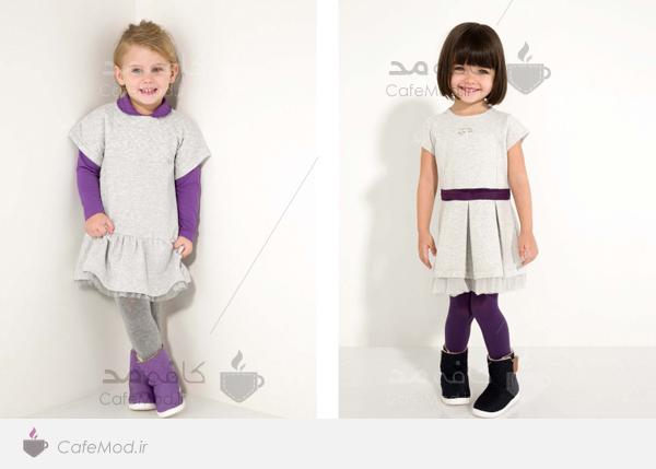 مدل لباس دخترانه پسرانه Armani-Junior
