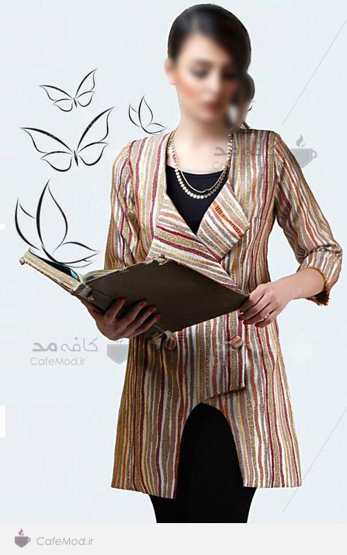 مدل مانتو جدید برند Bahar Design