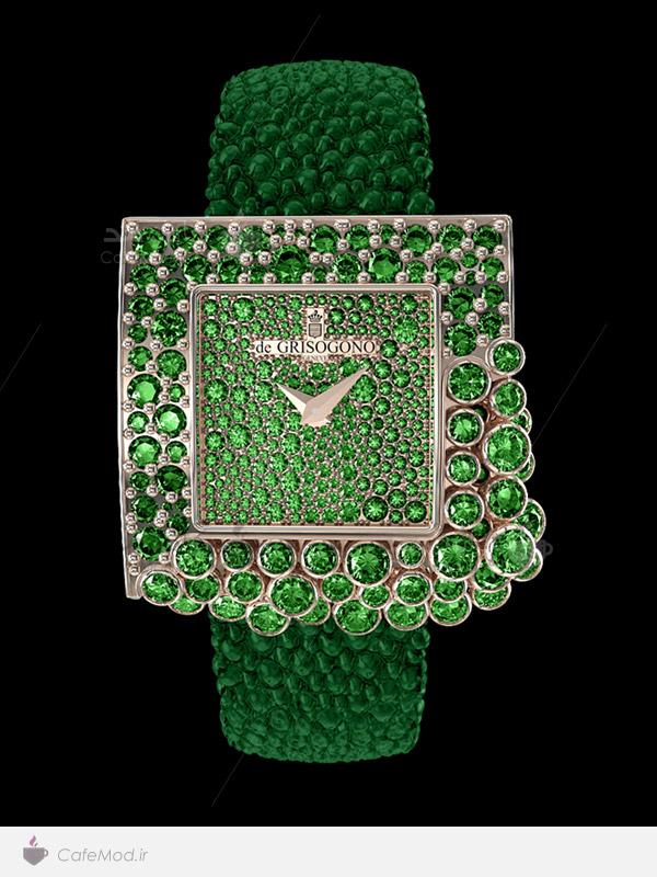 مدل ساعت مچی زنانه De Grisogono