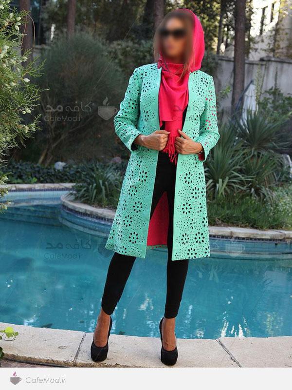 مدل مانتو ایرانی Loo-D با رنگ های شاد