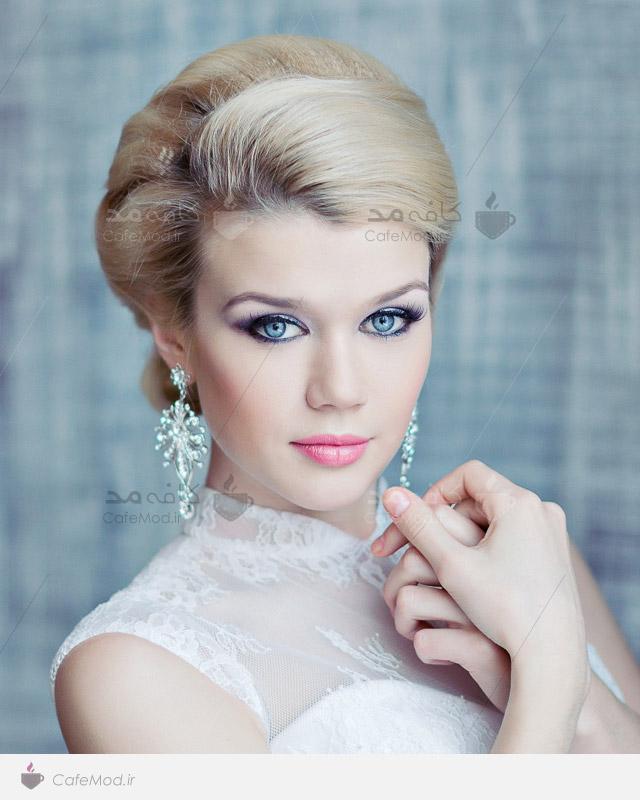 مدل مو عروس 2015