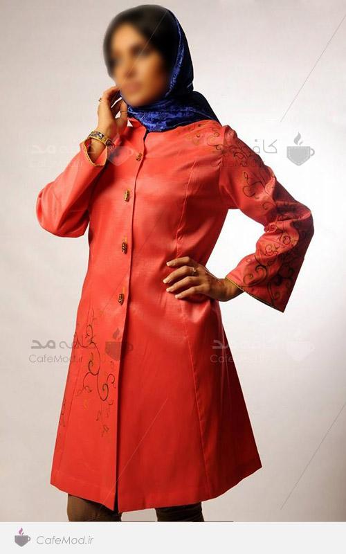 مدل لباس زنانه مزون قاجار