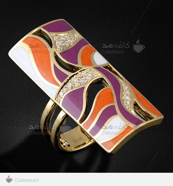 مدل جدید انگشتر جواهر