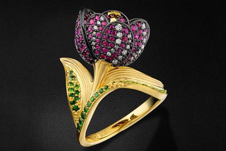 مدل جدید انگشتر جواهر 11