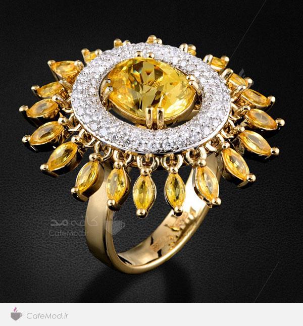 مدل انگشترهای جواهر زنانه