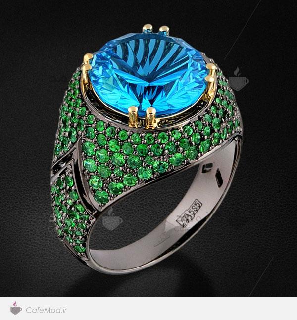 مدل انگشترهای جواهر