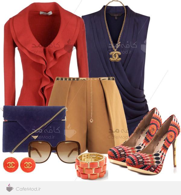 مدل ست کردن انواع لباس