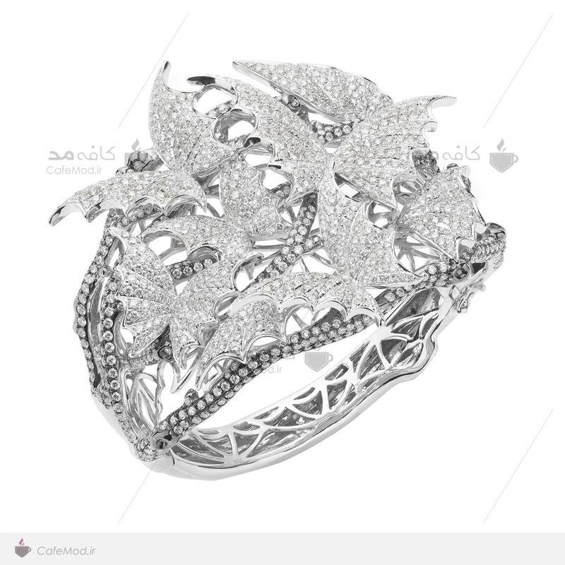 مدل دستبند جواهر عروس