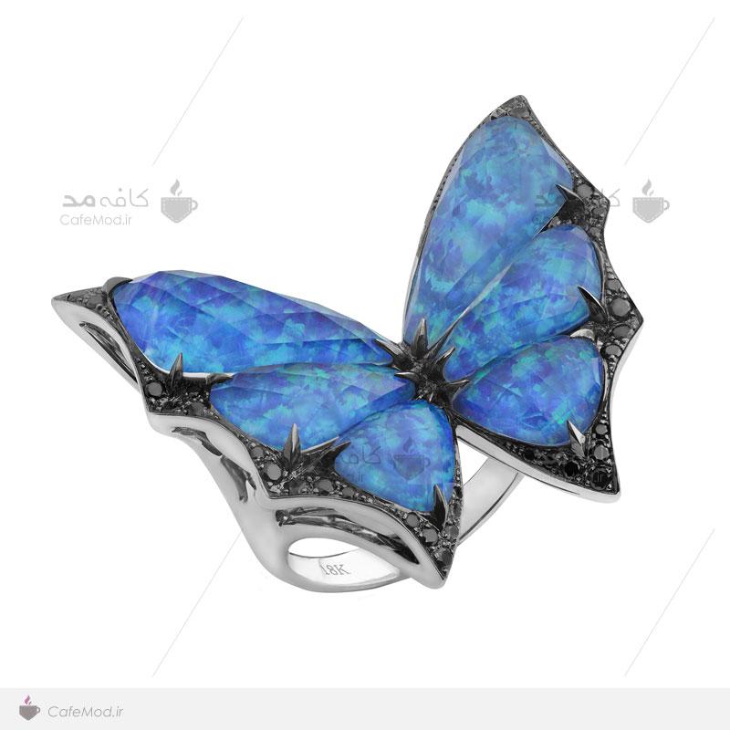 مدل انگشتر فشن پروانه