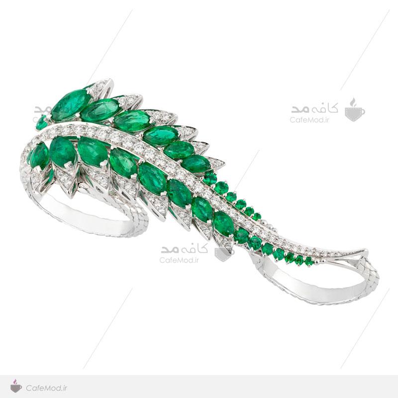 مدل انگشتر فشن جواهر