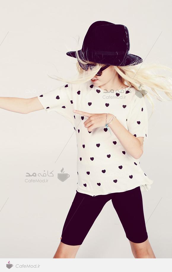 مدل لباس دخترانه WILD FOX