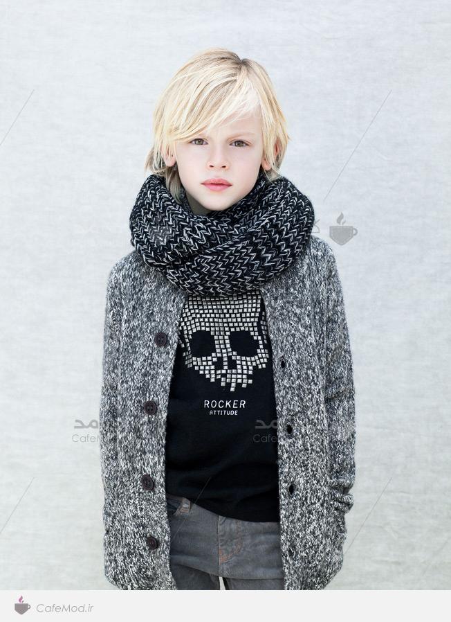 مدل لباس پسرانه زمستانه ZARA
