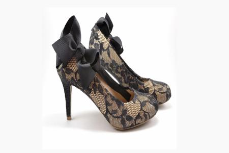 آموزش تزئین کفش با دانتل 3