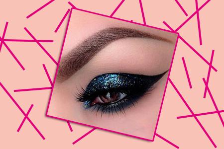 آموزش آرایش چشم سرمه ای 2