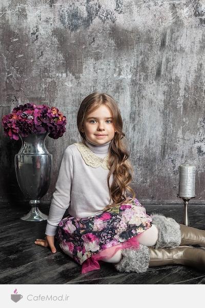 مدل لباس رسمی دخترانه choupette