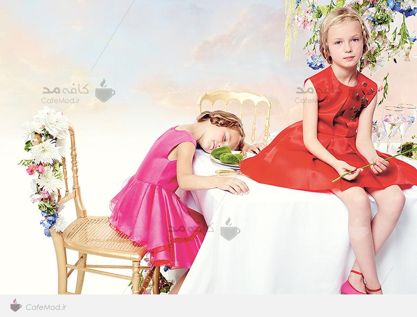 مدل لباس دخترانه DIOR&MASSIMO DUTTI