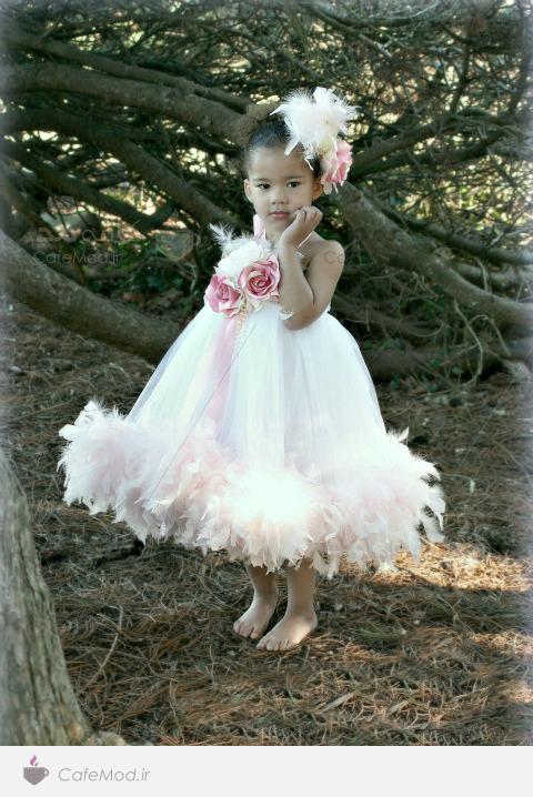 مدل گل سر دخترانه