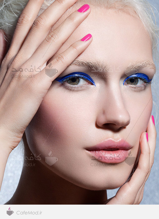 مدل آرایشی صورت