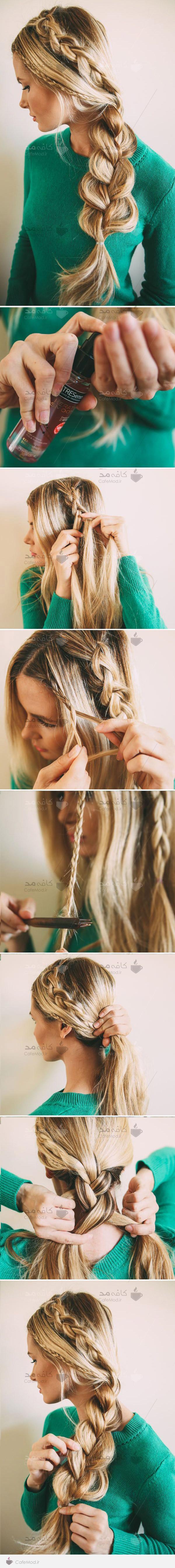آموزش سه بافت در مو