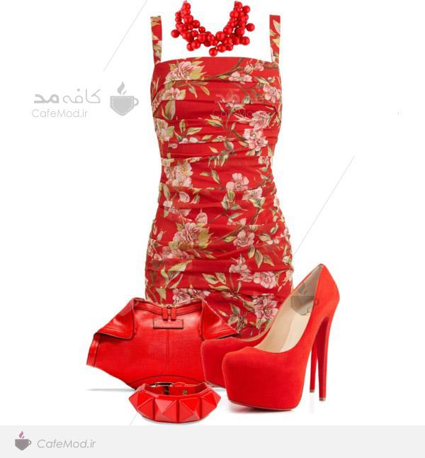 مدل برای ست کردن لباس زنانه