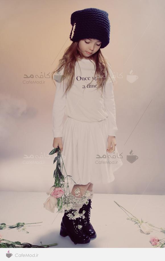 مدل لباس دخترانه راحتی WILD FOX