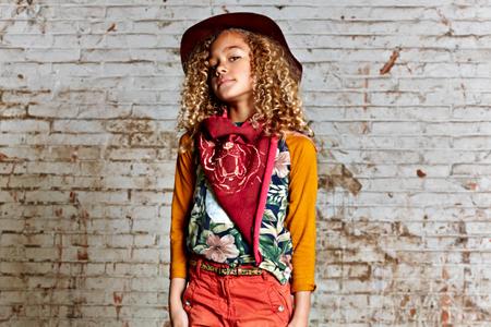 مدل لباس دخترانه Bohemian 6