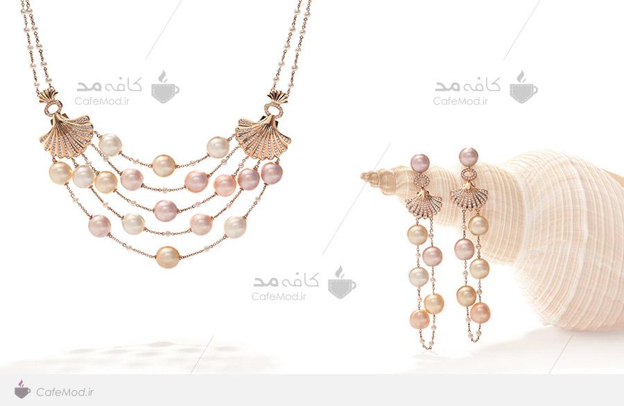 مدل نیم ست جواهرات