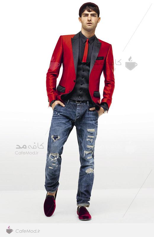 مدل لباس مردانه D&G