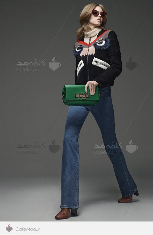 مدل لباس زمستانی زنانه Fendi