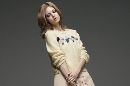 مدل لباس زمستانی زنانه Fendi 9