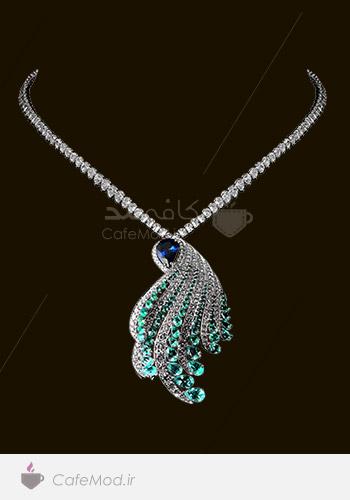 مدل گردنبند جواهر