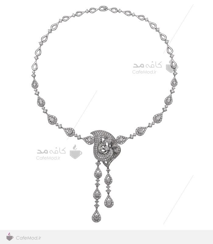 مدل گردنبند جواهر عروس