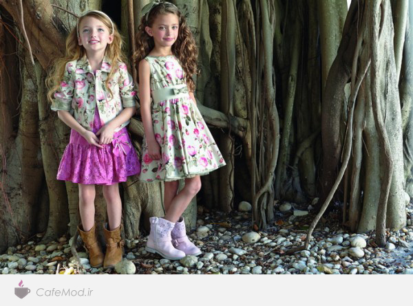 مدل لباس دخترانه Monnalisa